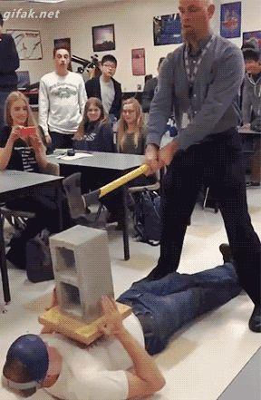 Retirement day for Physics teacher