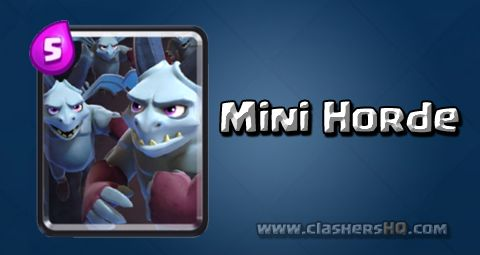 Find out all about the Clash Royale Minion Horde Card. How to get Minion Horde & attack/counter Minion Horde effectively.