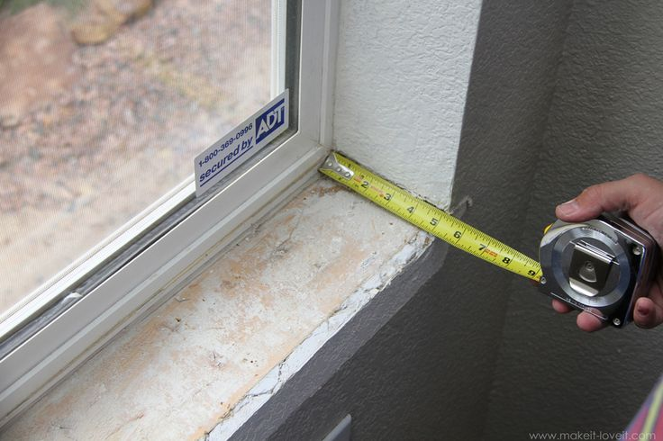 Home Improvement: Trimming a Window (replacing the sill & apron, adding side/top molding) | Make It and Love It