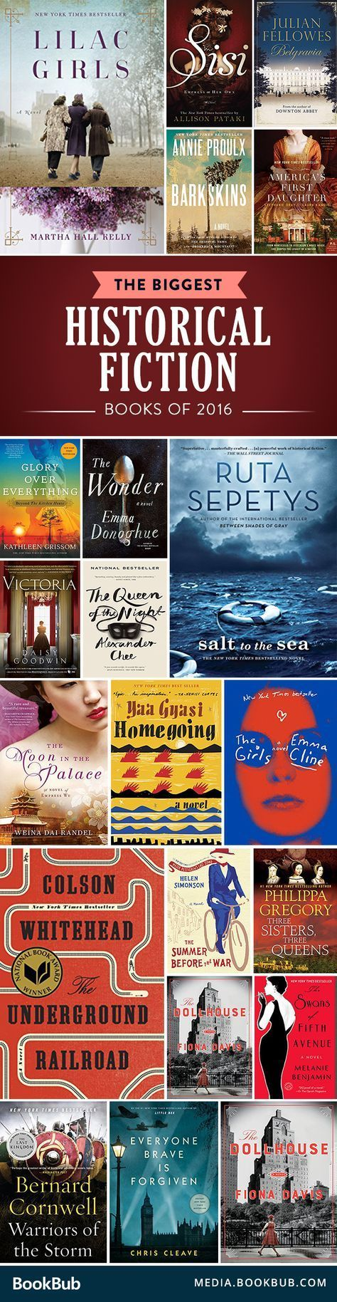 The Biggest Historical Fiction Books Of 2016