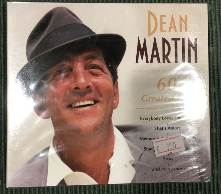 Dean Martin - Greatest Hits 2 CDs Digipack Set New Sealed