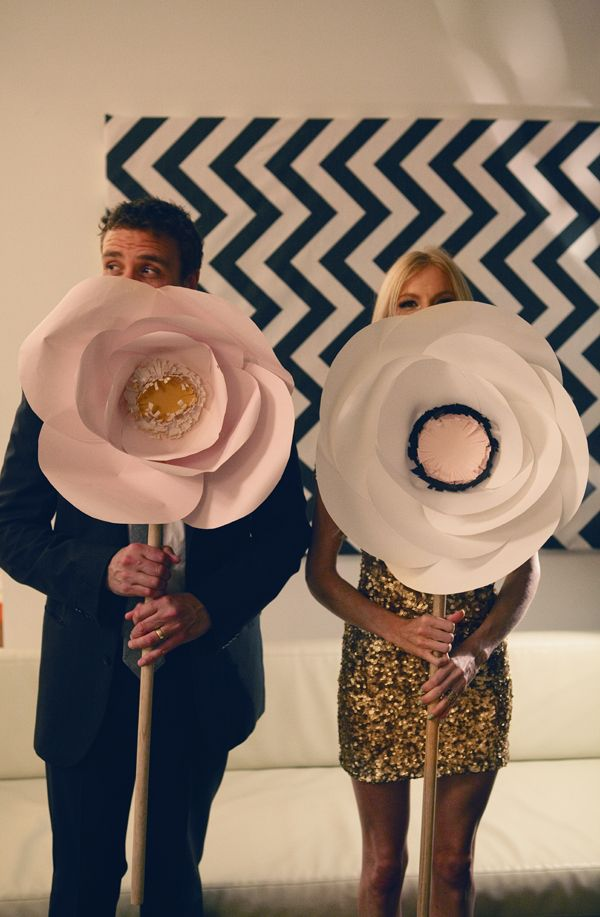 Venue decor idea- fabric or paper flowers. Can sell after show?