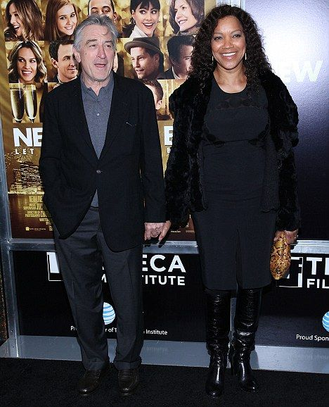 Baby joy: Robert De Niro and his wife Grace have welcomed a daughter via surrogate