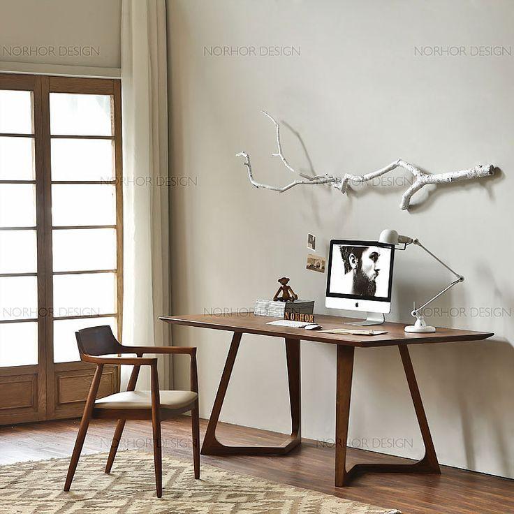 Nordic expression / classics / North American black walnut furniture Naoto Fukasawa Hiroshima wood chair armrest