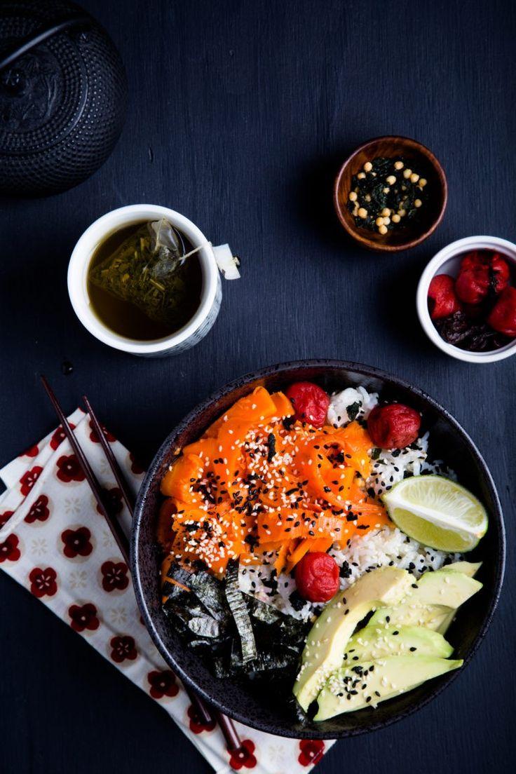 Japanese Style Breakfast Bowl