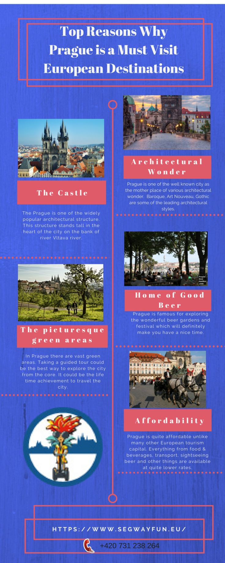 Prague is the most beautiful city in European continent. This infographic will help you to know the reasons why #Prague is a must visit destinations.