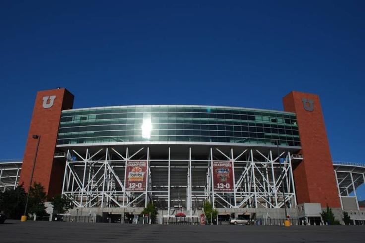 University of Utah Utes football entrance to Rice