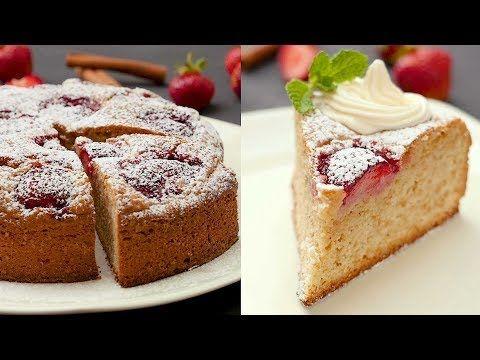 Клубничный пирог - Рецепты от Со Вкусом - YouTube
