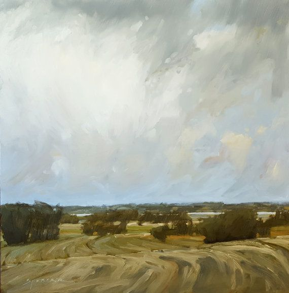 From Here To There Oil Painting Original Painting Landscape by Erin Spencer