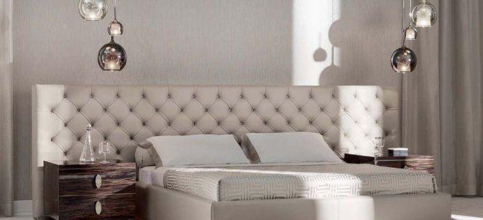 Upholstered Bed, Bedroom Decor, Headboard, white bedroom, tufted bed ...