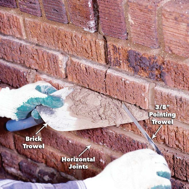 Restore Crumbling Mortar Joints With A Chisel A Grinder And A Lot Of Patience Brick Repair Home Repair Mortar Repair