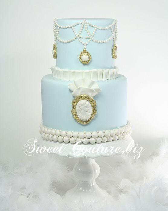 Gâteau de Mariage Victorien Wedding Cake