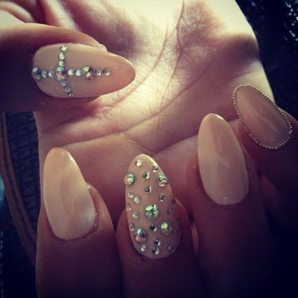 Stilleto Nail Ideas For Prom: 101 Best Prom Nails 2014 Images On Pinterest
