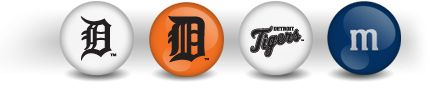 Personalized Baseball Candy with MLB Team of Your Choice