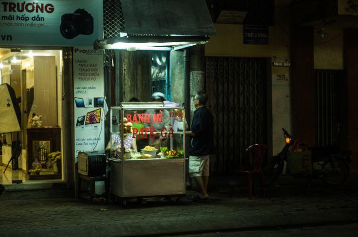 Can Tho bahn mi stall