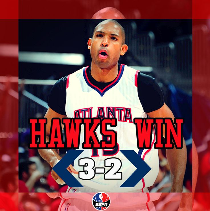 Hawks win! Al Horford hits bucket in final seconds as Atlanta survives 82-81 to take a 3-2 series lead.
