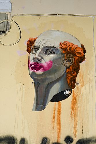 Athens Street Art, Greece  Artist: WD