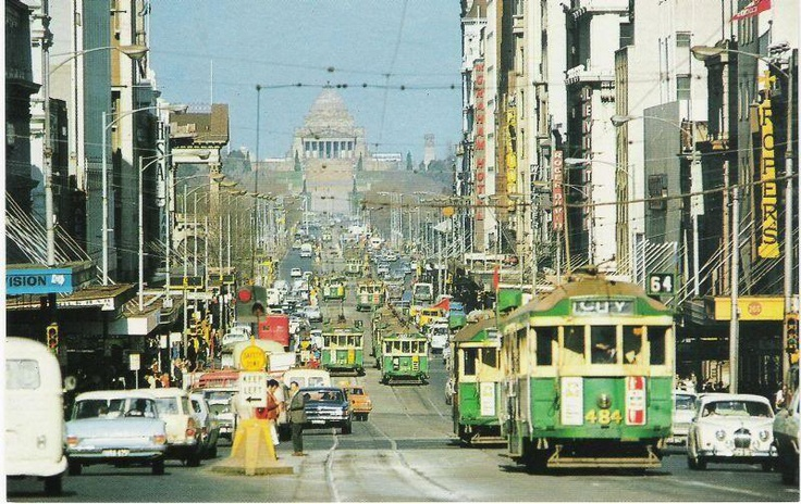 Swanston Street, looking South
