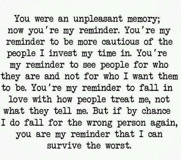(6) If you were to write a letter to your narcissist ex