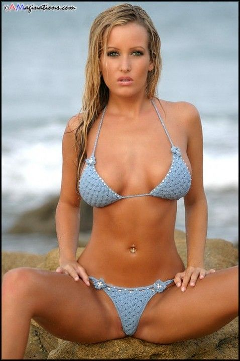 Jessica Barton Legs Spread Bikini  Box  Bikinis, Bikini -8021