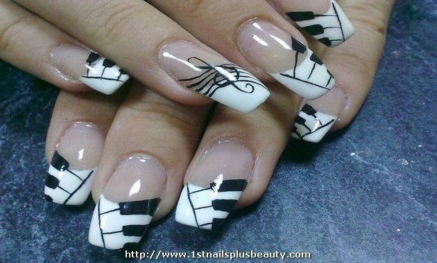Piano keys nail art image collections nail art and nail design ideas piano keys nail art picture nail art design pinterest nail piano keys nail art picture nail prinsesfo Images