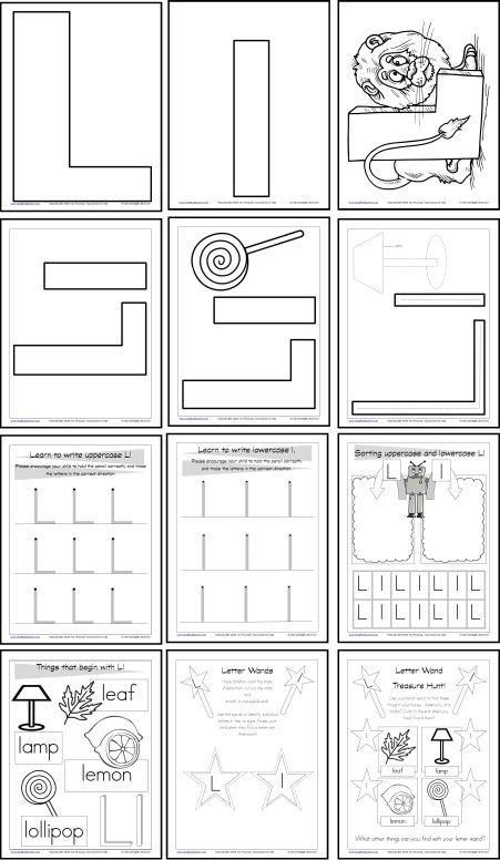Worksheet For Preschool Letter L Ladybug. Worksheet. Best