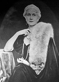 Magdolna Purgly, wife of Admiral Miklós Horthy.