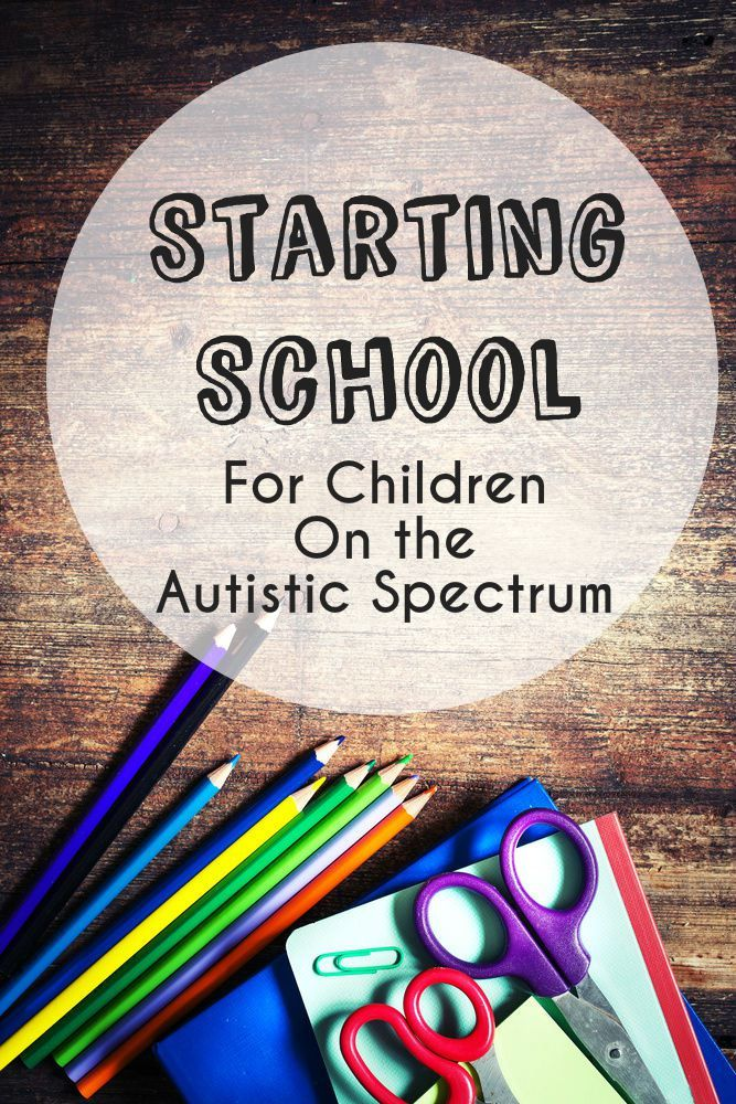 Starting school for Children on the Autistic Spectrum (and huge Back to School giveaway!) - In The Playroom