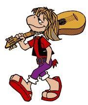 Sabían que toco la guitarra?