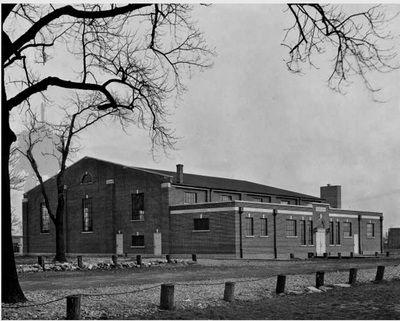 1930 - St Joseph's Hospital gymnasium, Eastern Parkway.