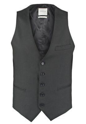 JJPRROY SLIM FIT - Vest - black