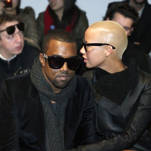 kanye and amber rose pictures | kanye west et amber rose sont definitivement les stars de
