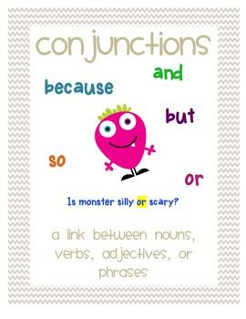 17 Best images about conjunctions on Pinterest | Simple ...