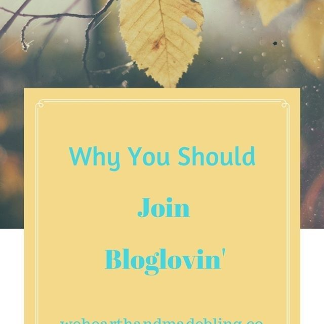 I find Bloglovin' to be an invaluable tool. Do you do Bloglovin'? ..#blog #blogging #bloglovin #smallbiz #motivation #inspiration #wehearthandmadebling
