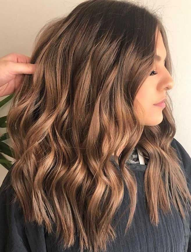 49 Beautiful Light Brown Hair Color To Try For A New Look Gorgeous Balayage Hair Color Ideas - brown … in 2020 | Brown hair balayage, Brown hair colors, Hair color balayage