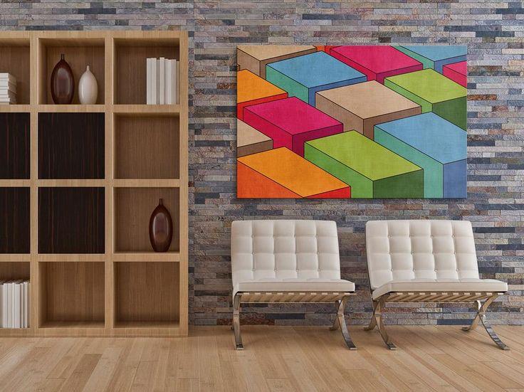 04501 Obraz na płótnie ABSTRAKCJA KOLORY 120x80 (4503152277) - Allegro.pl - Więcej niż aukcje.