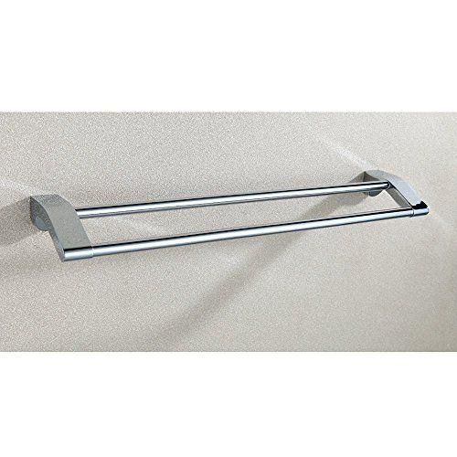 Luxury Chrome Double towel Bar
