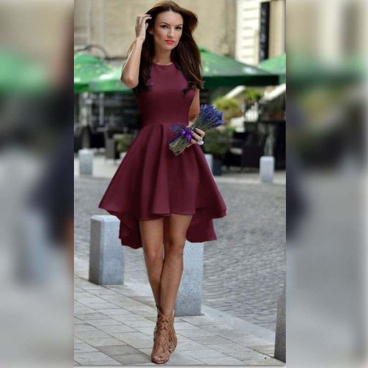 Highlight with pure candy color, this dress is so shinning and bright will make…