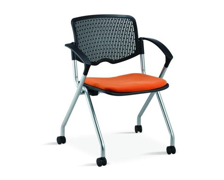 Venta caliente apilable silla de oficina plegable