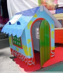 Casa de carton para ni os cases de cartr pinterest - Casa carton ninos ...
