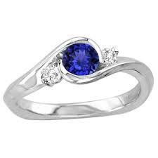 Image result for tanzanite wedding rings
