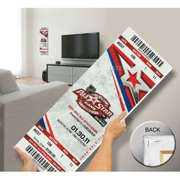 2011 NHL All-Star Game Mega Ticket, Carolina Hurricanes Host - MVP Sharp - $79.99