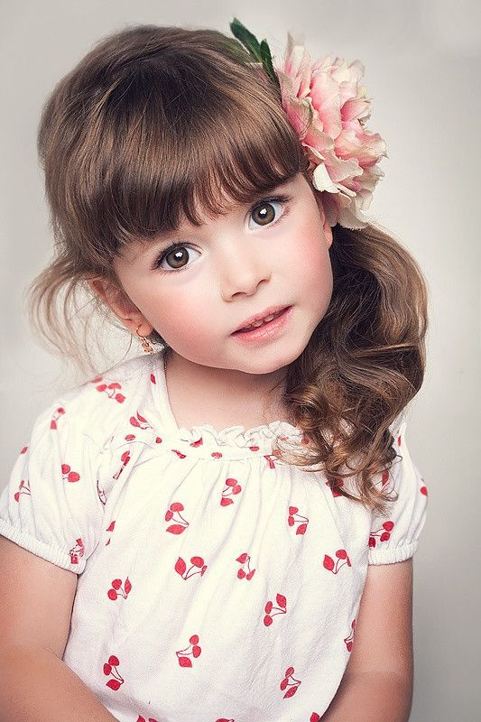 cortes de cabelo infantil com franjas