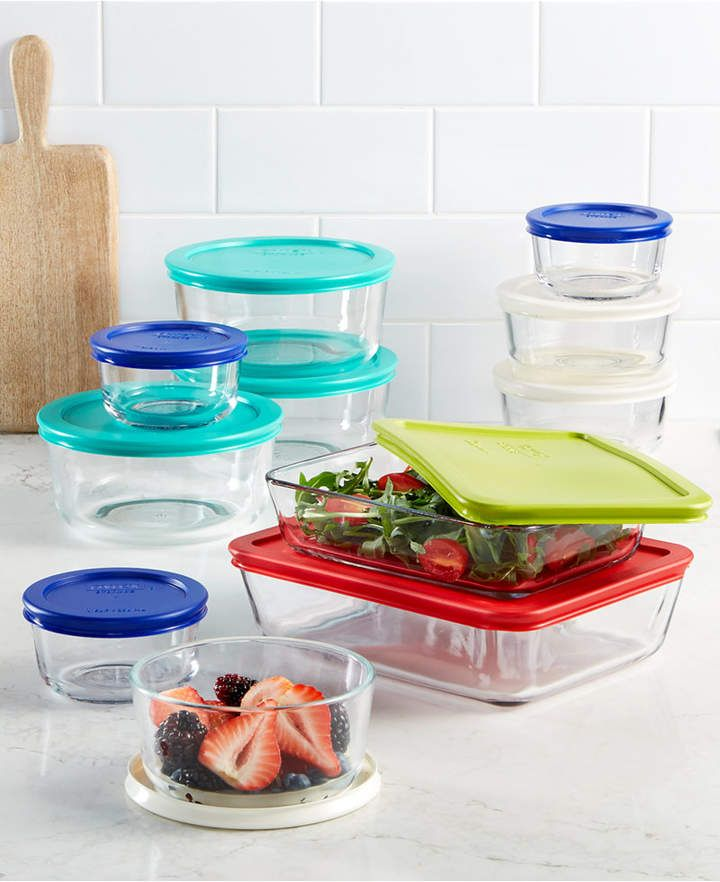 Pyrex 22 Piece Food Storage Container Set, Created for Macy's #ad