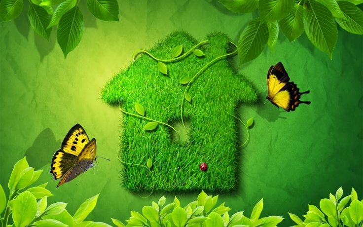 Image For Go Green Wallpaper Desktop Background
