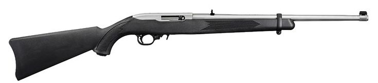 Ruger 10/22 Stainless Steel Barrel with Synthetic Black Stock 1256 - Rifles - Firearms