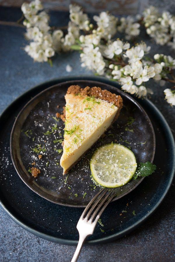 Weltbester cremiger und fruchtiger Key Lime Pie