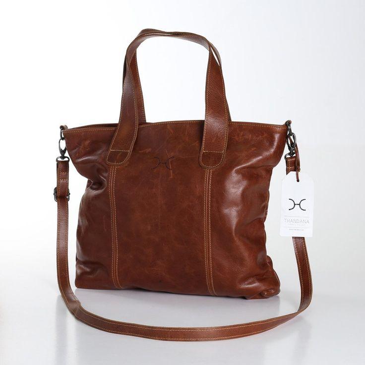 Thandana Leather Jax Handbag - click for colour options