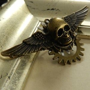 Image of Steampunk Sky Pirate Brooch