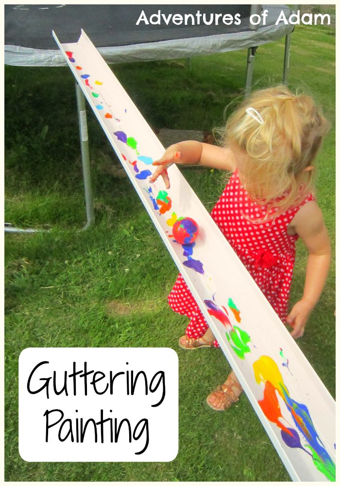Guttering Painting | http://adventuresofadam.co.uk/guttering-painting/